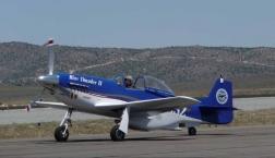 Blue Thunder - Thunder Mustang Kit Plane
